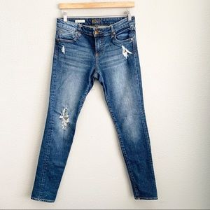 Kut from kloth Diana skinny distressed jeans